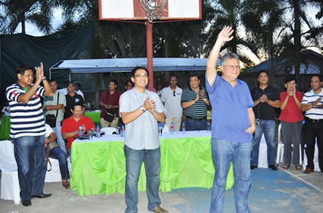 Binmaley leaders shift to Mark C b Mark M tandem