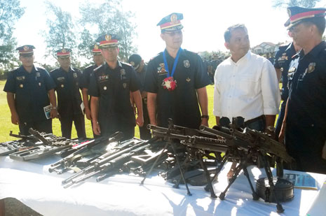 Revita turns over 21 high-powered guns for clean polls