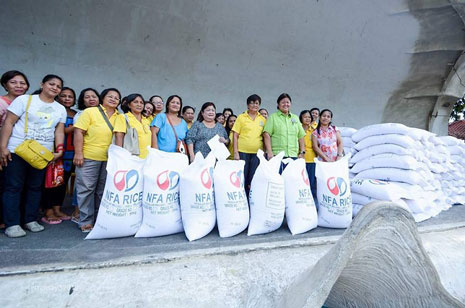 City receives 190 bags of rice for Day-Care pupils