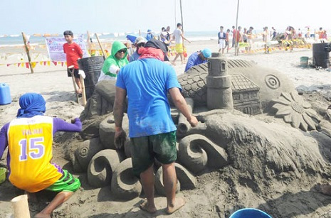 SAND SCULPTING FOR PISTA'Y DAYAT