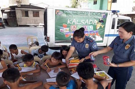 Kalsada Aral Patrol for out-of-school kids