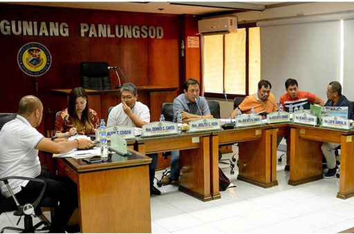 SP FINANCE COMMITTEE CONDUCTS BUDGET HEARING