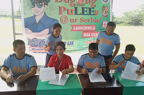 Pangasinan PNP signs MOA for regular bloodletting