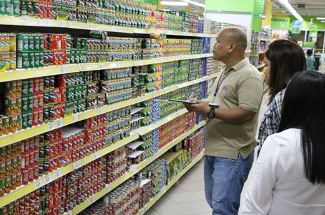 DTI sets new SRP on canned goods