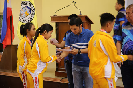 Medalists in national games get cash incentives