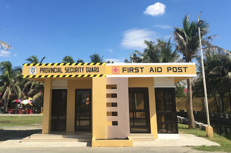 CAPITOL BEACHFRONT GUARD HOUSE AND FIRST AID POST, BATH HOUSE AND SHUTTLE BUS TERMINAL-2 READY FOR USE