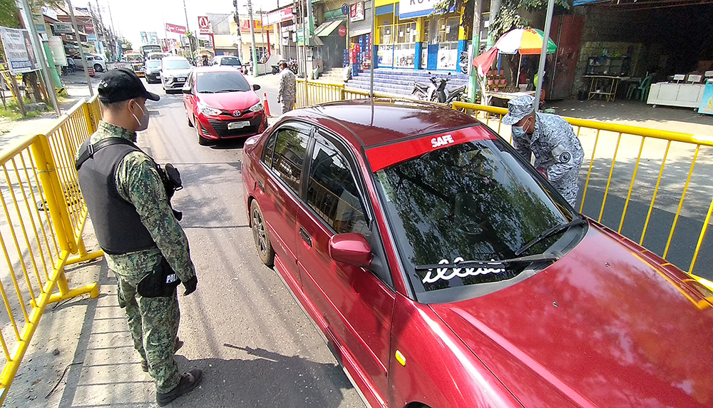 TIGHTER CONTROL AT CITY'S BORDER CHECKPOINTS