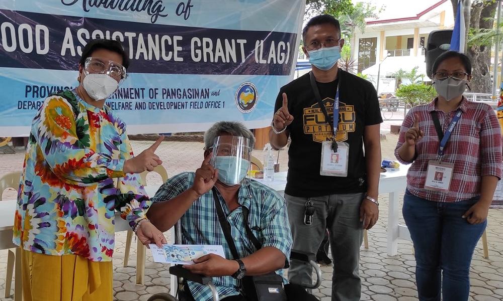 LIVELIHOOD ASSISTANCE GRANT TO INFORMAL SECTORS