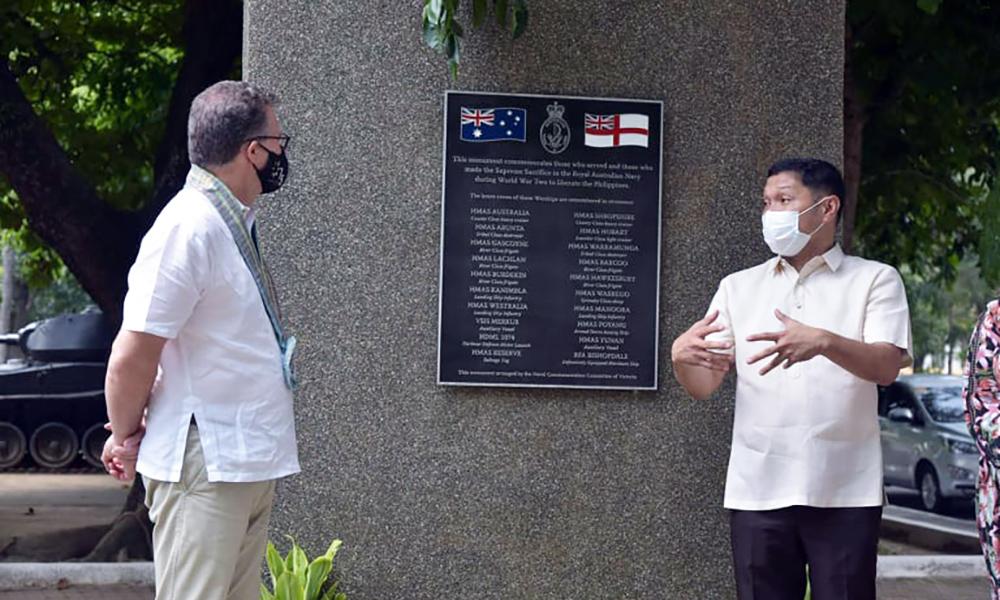 Gov. Espino, Acting Australian Ambassador discuss marine culture, fishery projects