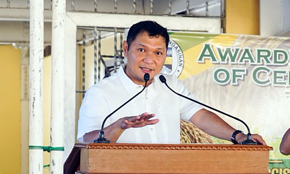 GOV. ESPINO BARES AGRI PROJECTS FOR PANGASINAN FARMERS