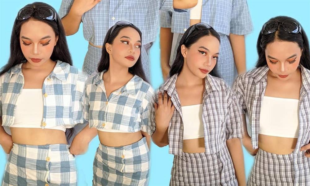 Girl turns ukay-ukay clothes to fashion gems
