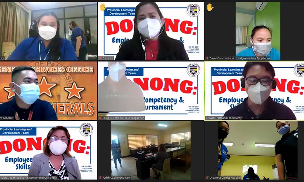 """""""DONONG"""" EMPLOYEE COMPETENCY AND SKILLS TOURNAMENT"""